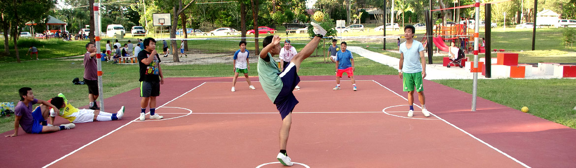 Takraw in Queensland!